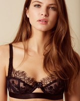 Agent Provocateur Macey Bra Navy And Black