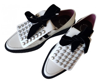 Marc by Marc Jacobs White Leather Lace ups