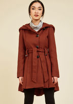 Steve Madden Once Upon a Thyme Coat in Paprika in XS