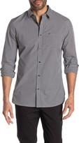 Calvin Klein Cotton Checkered Button Down Shirt