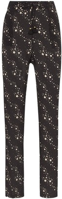 Figue Alexa star print trousers