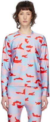 Comme des Garcons Multicolor Camo Long Sleeve T-Shirt
