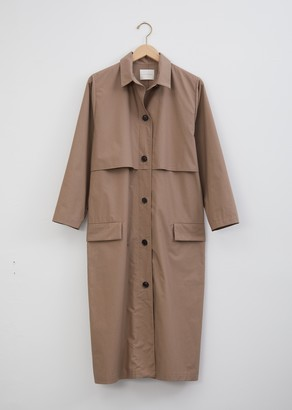 La Garçonne Moderne Artist Cotton Trench Coat
