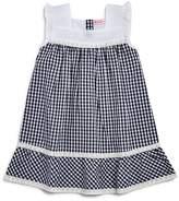 Design History Girls' Gingham Eyelet Dress - Little Kid
