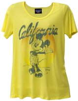 Mickey Mouse - California Mickey Juniors Boyfriend T-Shirt