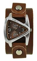 Nemesis Women's 024BGBB Small Triangle Series Analog Display Japanese Quartz Watch
