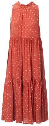 N. Asceno \N Red Silk Dresses
