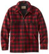 L.L. Bean Maine Guide Zip-Front Jac-Shirt with PrimaLoft, Plaid