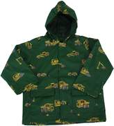 Foxfire for Kids Boys Raincoat with Construction Equipment