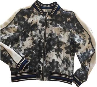 Karen Millen Grey Silk Jacket for Women