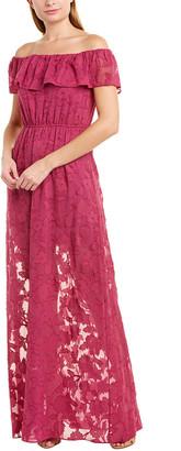Rachel Zoe Clea Silk-Blend Gown