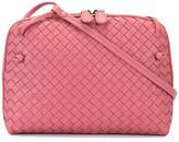 Bottega Veneta woven effect crossbody bag - women - Leather - One Size