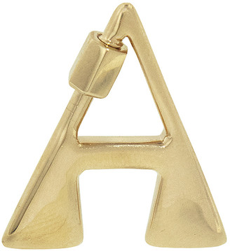 Marla Aaron Small Letter Lock - Yellow Gold