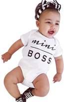Susenstone Newborn Kids Clothes Baby Infant Bodysuit Romper Jumpsuit Outfit