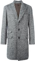 Brunello Cucinelli cashmere herringbone coat