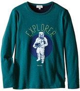 Paul Smith Bear Astronaut Printed Tee Shirt Boy's T Shirt