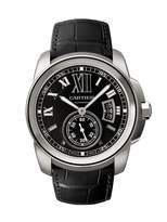 Cartier Men's W7100014 Calibre de Steel Automatic Watch