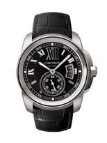 Cartier Men's W7100014 Calibre de Steel Automatic Watch