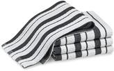Williams-Sonoma Williams Sonoma Classic Striped Dishcloths, Jet Black