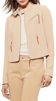 Lauren Ralph Lauren Tailored Moto Jacket