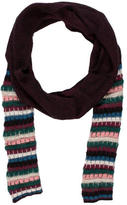 M Missoni Striped Knit Scarf