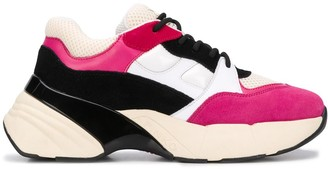 Pinko Chunky Sole Geometric Sneakers
