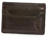 Frye Men's 'Logan' Leather Card Holder - Black