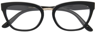 Dolce & Gabbana Eyewear Oval-Frame Glasses