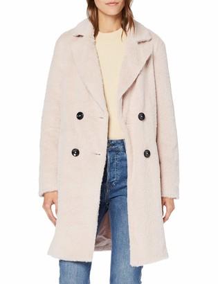 New Look Women's Adele Eyelash Coat