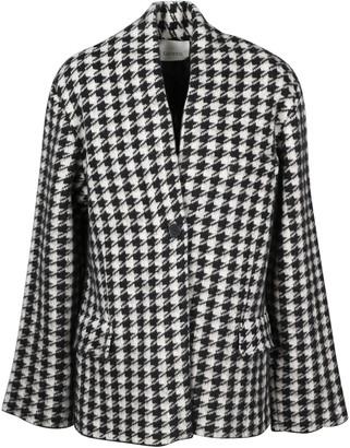 Laneus Knitted Jacket In Pied De Poule