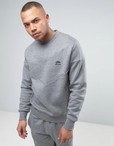 Ellesse Italia Sweatshirt With Chevron Panel
