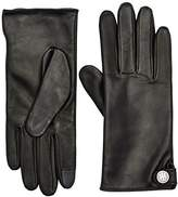 Tommy Hilfiger Women's Coin Leather Gloves
