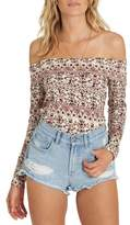 Billabong Make Time Off the Shoulder Top