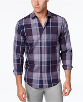 Alfani Men's Plaid Shirt, Classic Fit