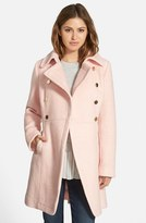 GUESS Women's Double Breasted Boucle Cutaway Coat