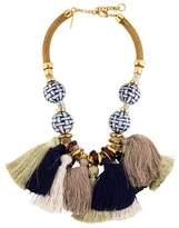 Lizzie Fortunato Polynesia Tassel Necklace