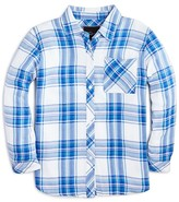 Rails Little Girls' Hudson Plaid Twill Shirt - Sizes 4-12