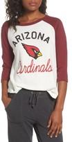 Junk Food Clothing Women's Nfl Arizona Cardinals Raglan Tee