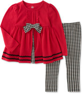 Kids Headquarters 2-Pc. Houndstooth Tunic & Leggings Set, Baby Girls (0-24 months)