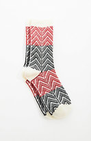 J. Jill Chevron Crew Socks