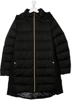 Herno TEEN quilted down coat