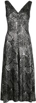 Paco Rabanne Abstract Midi Dress