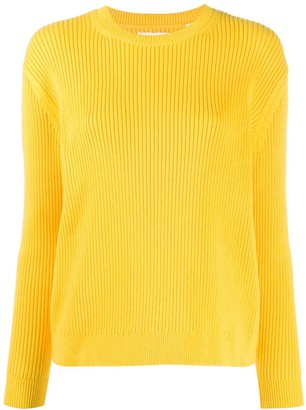 Chinti and Parker Ribbed Crew-Neck Jumper