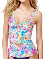 Anne Cole Women's Bud's for You Tankini Top