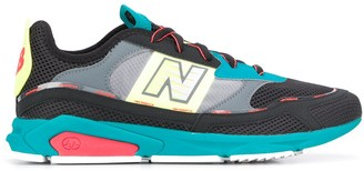 New Balance X-Racer colour block sneakers