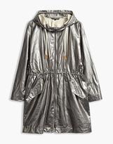 Belstaff Rivingten Hooded Parka Jacket Grey/Beige