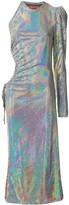 Asyjmetric One-Sleeve Dress