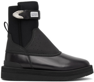 Toga Black Suicoke Edition Bee-SP Boots