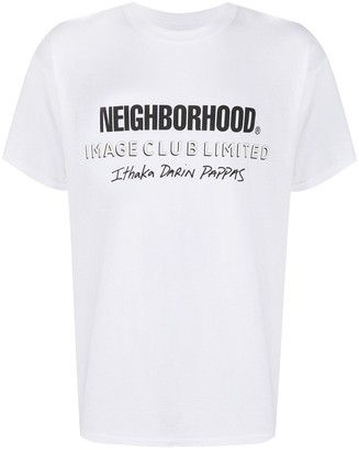 Neighborhood graphic-print crew neck T-Shirt