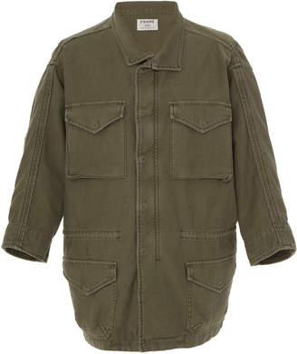Frame Service Cotton-Canvas Utility Jacket Size: XS